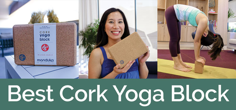 best cork yoga block