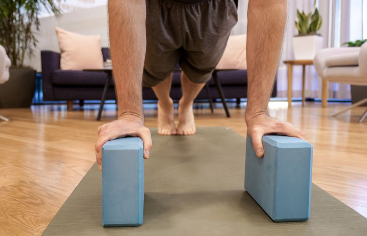 grippy yoga block