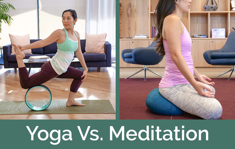 yoga vs meditation